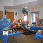Kids Club Carnival Prize Table